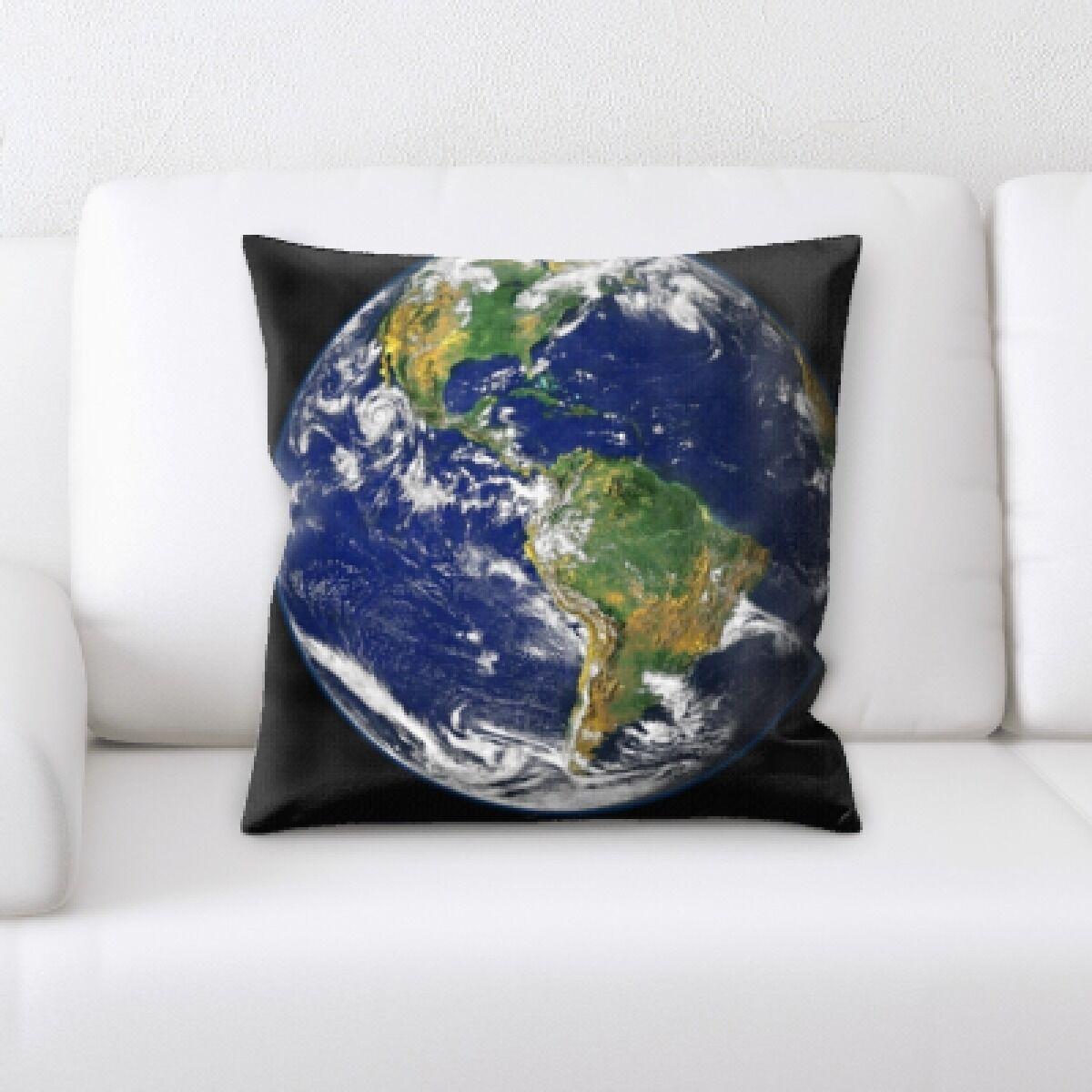 Belen Full Earth Throw Pillow