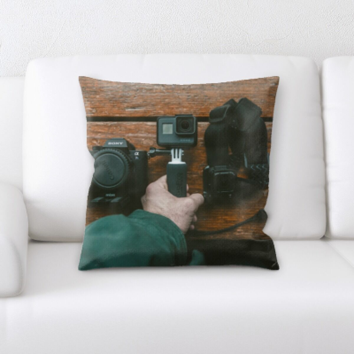 Go Pro (10) Throw Pillow