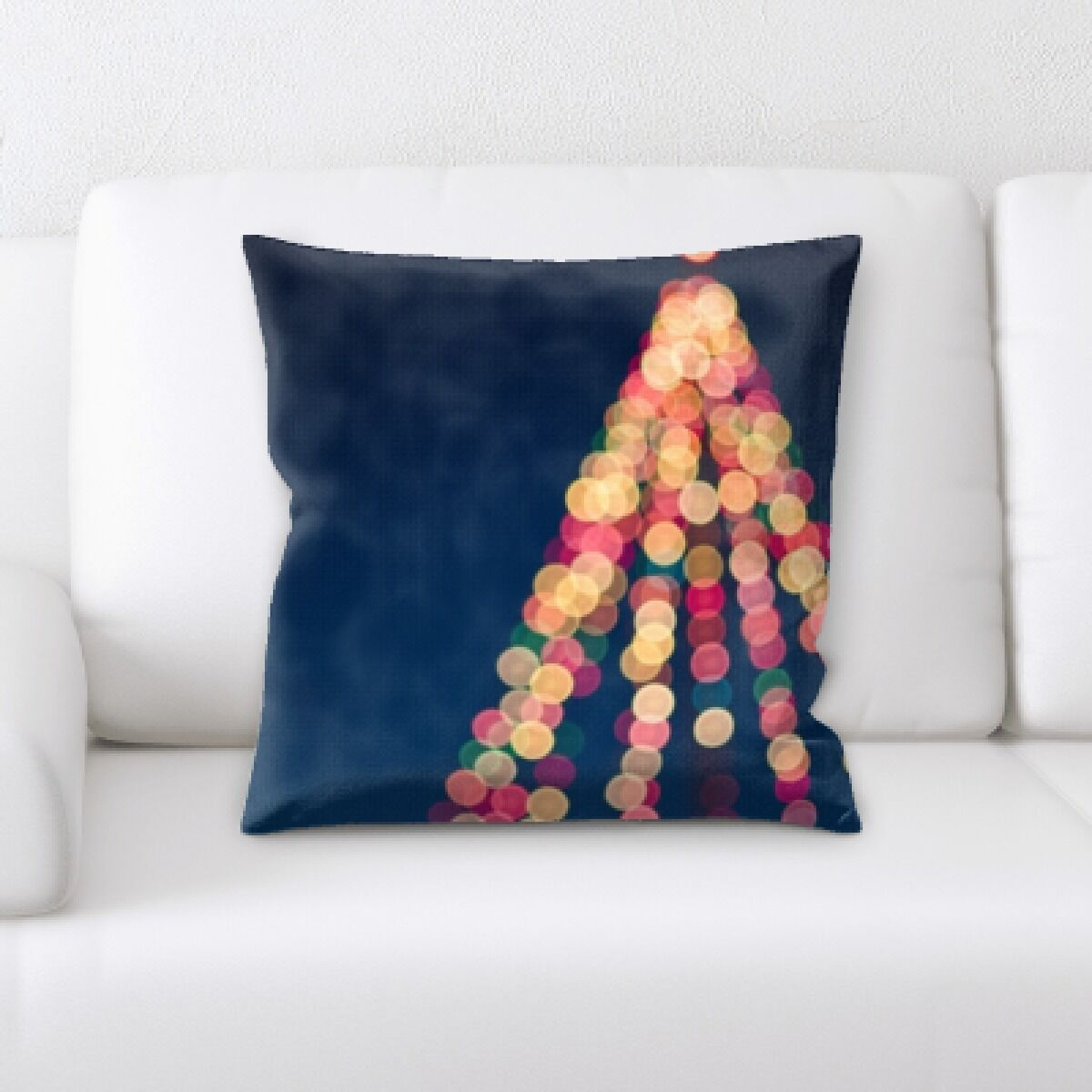 Congo Christmas Tree (2) Throw Pillow