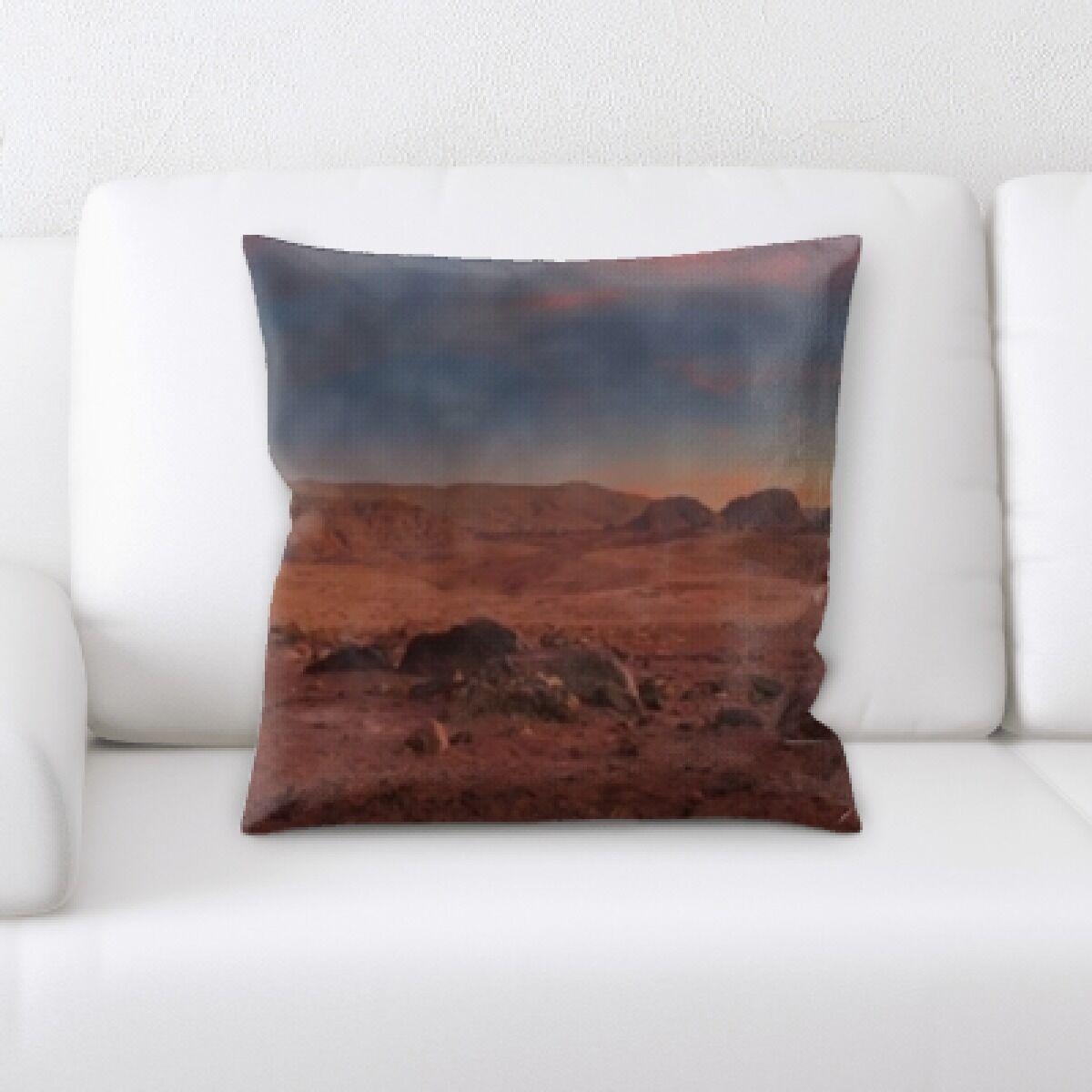 Desert (5) Throw Pillow