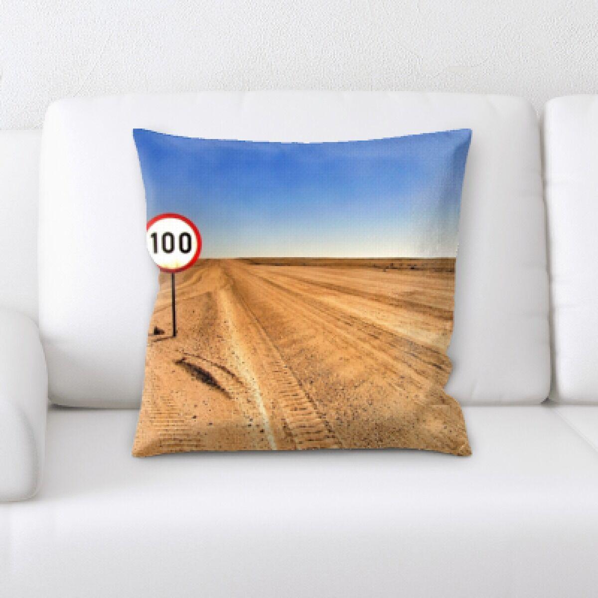 Desert (10) Throw Pillow