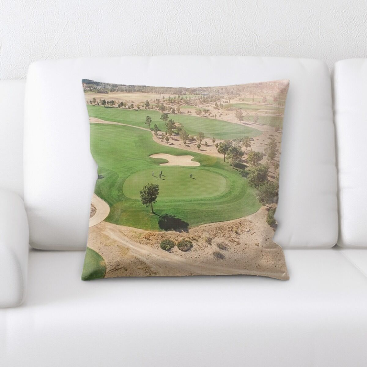 Jalynn Field (1) Throw Pillow