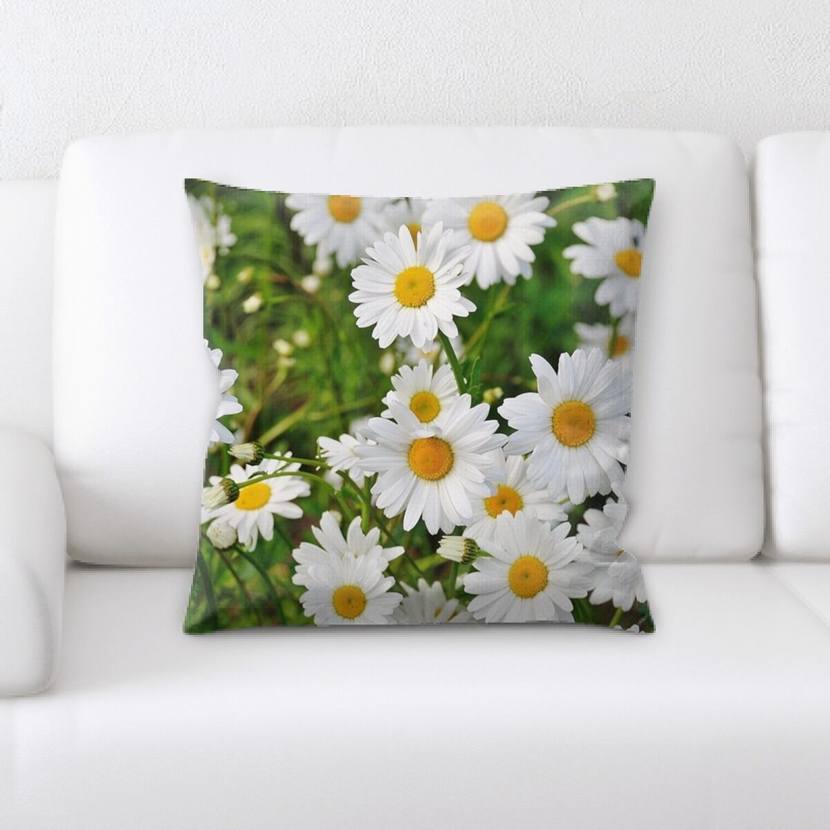 Close up Spring Flowers (3) Throw Pillow