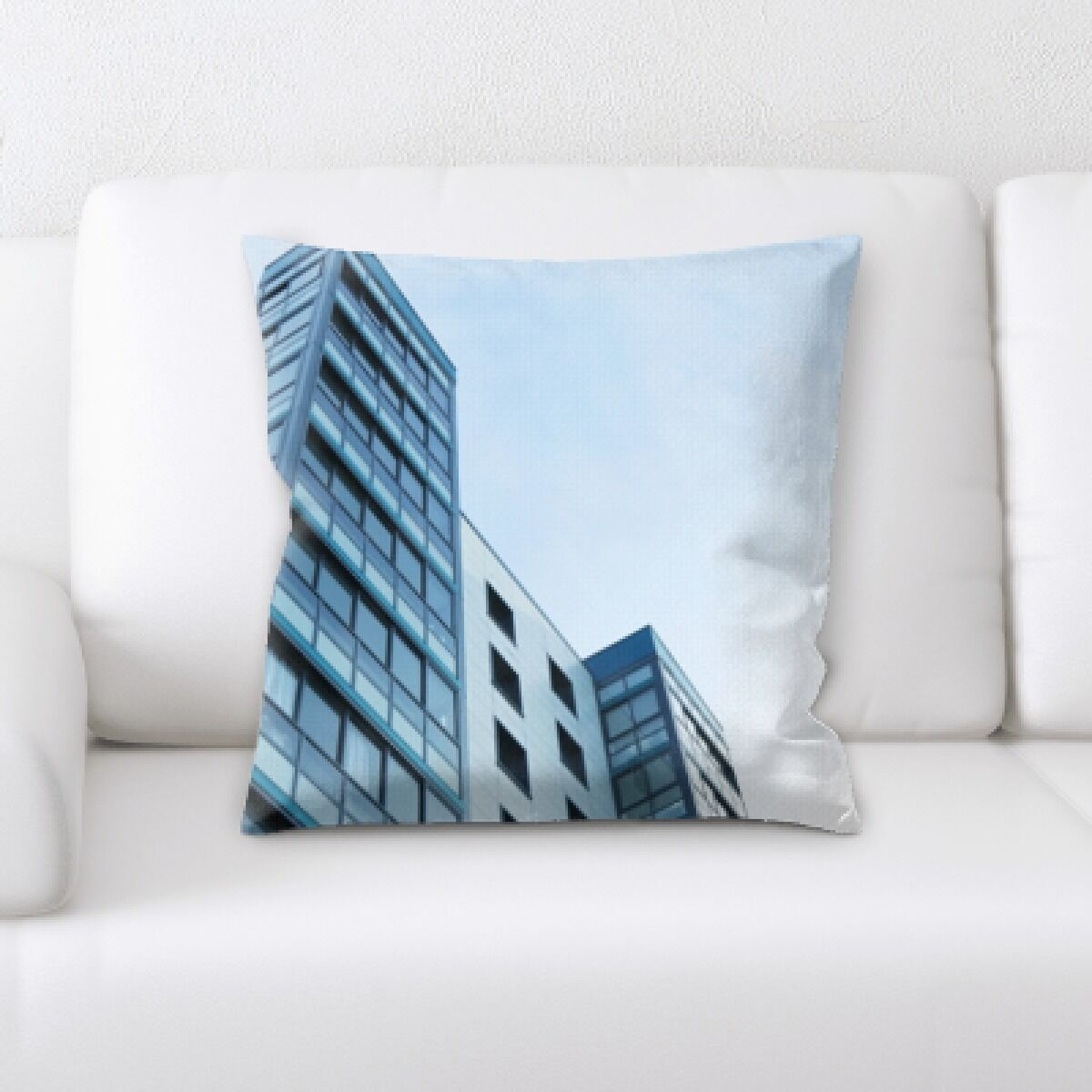 Mosley High Rise Buildings (3) Throw Pillow