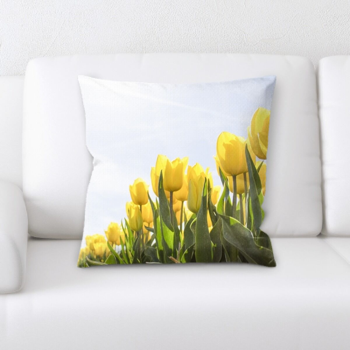 Close up Spring Flowers (16) Throw Pillow
