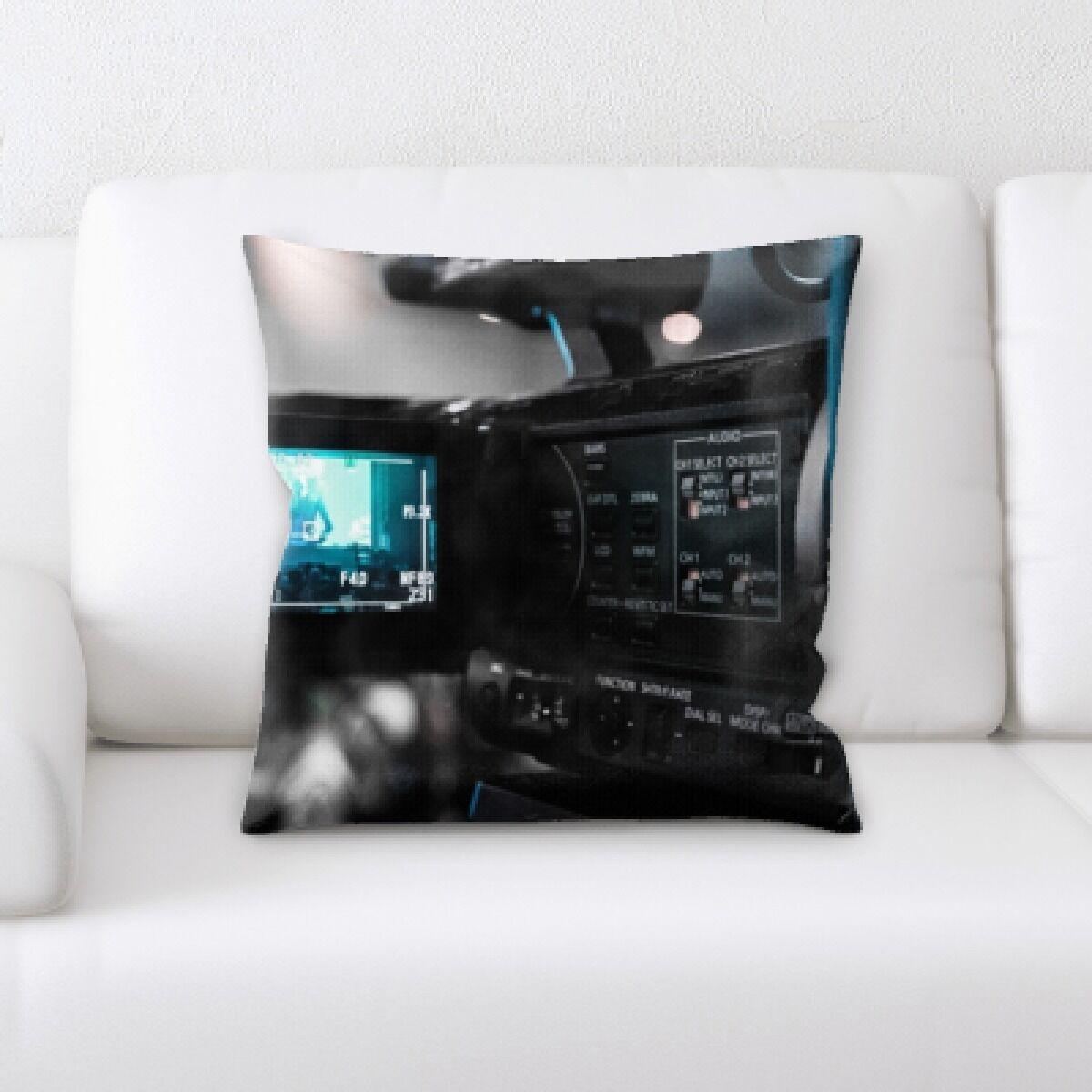 Sacramento Camera (2) Throw Pillow