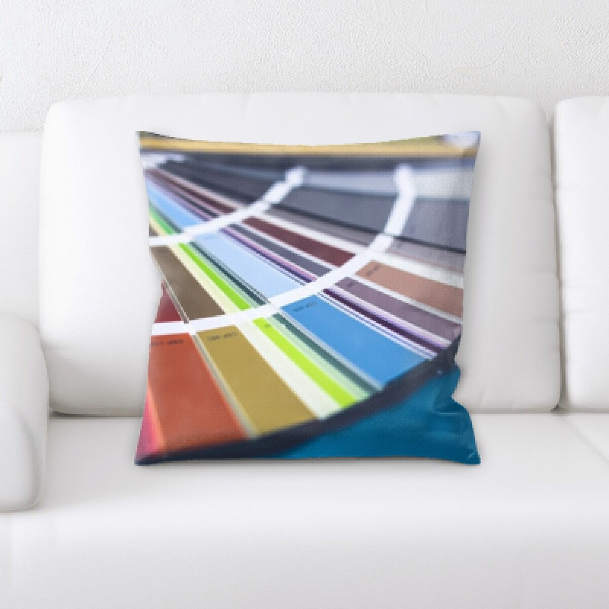 Joice Color Throw Pillow