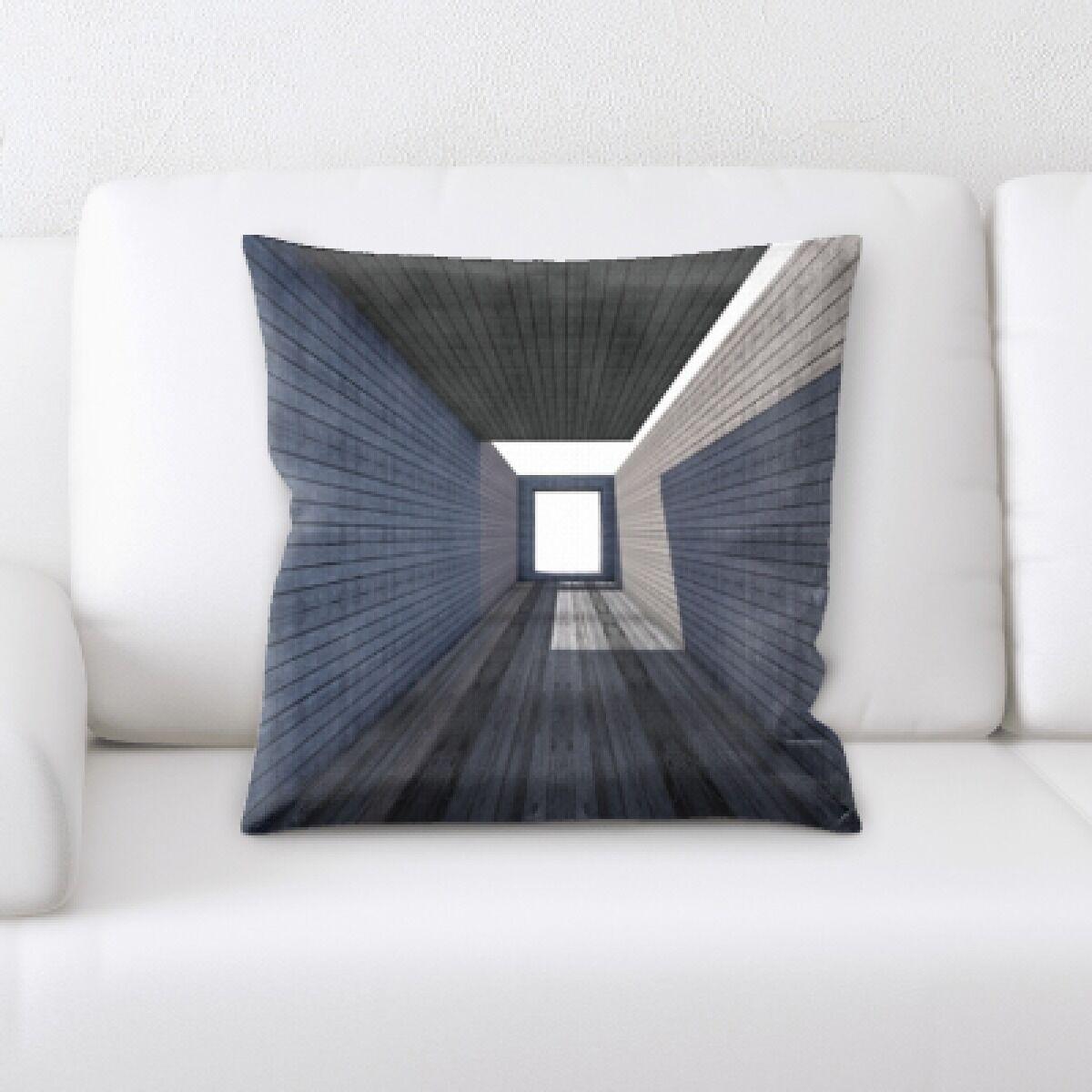 Kamille Architecture (5) Throw Pillow