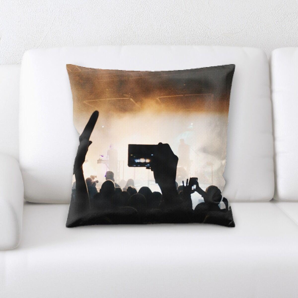 Kansas People (3) Throw Pillow