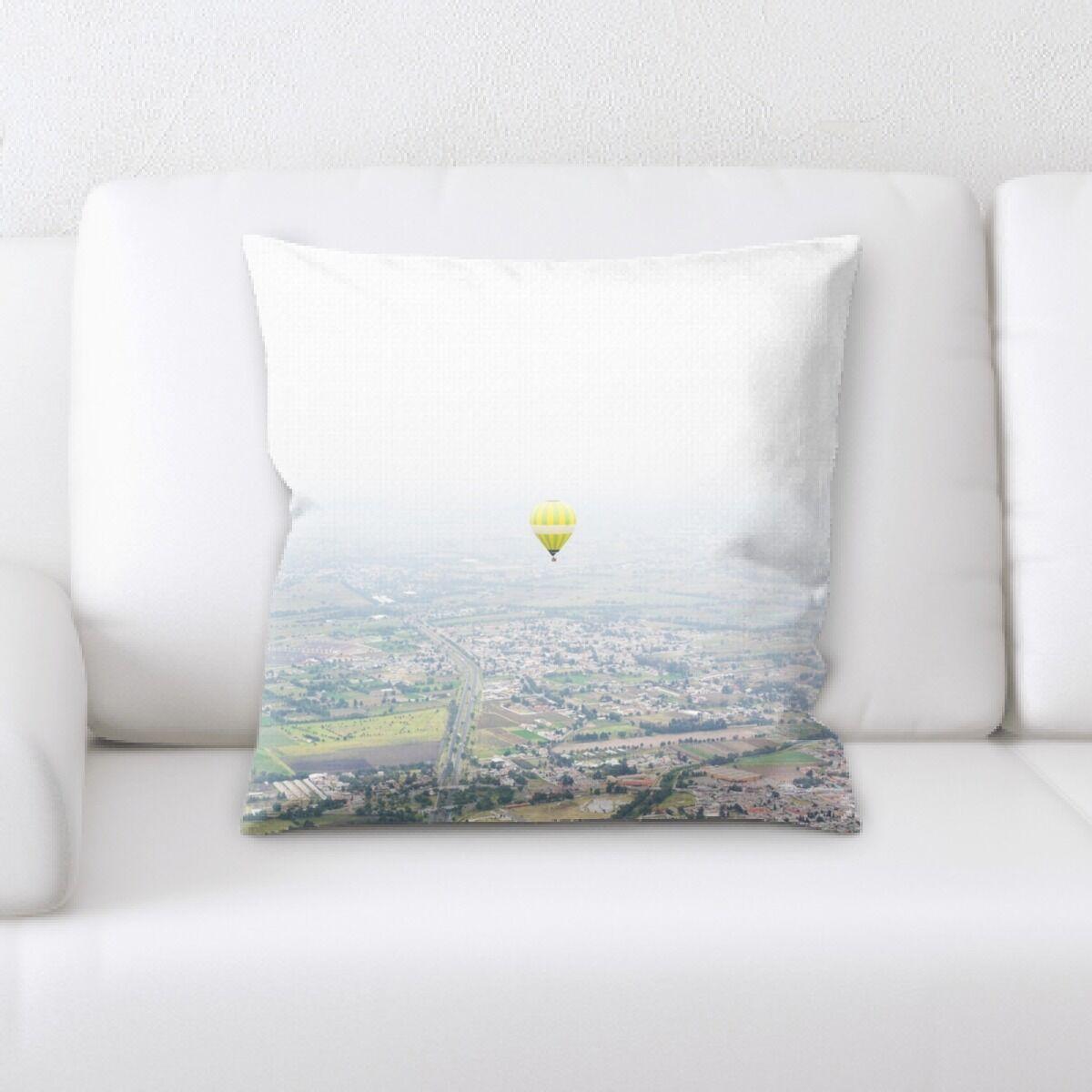 Laughlin Hot Air Balloon (8) Throw Pillow