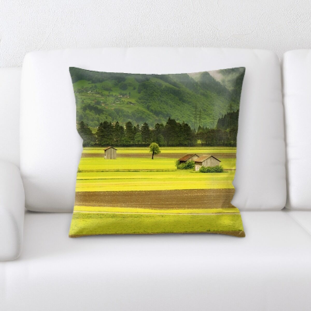 Landscapes (2) Throw Pillow