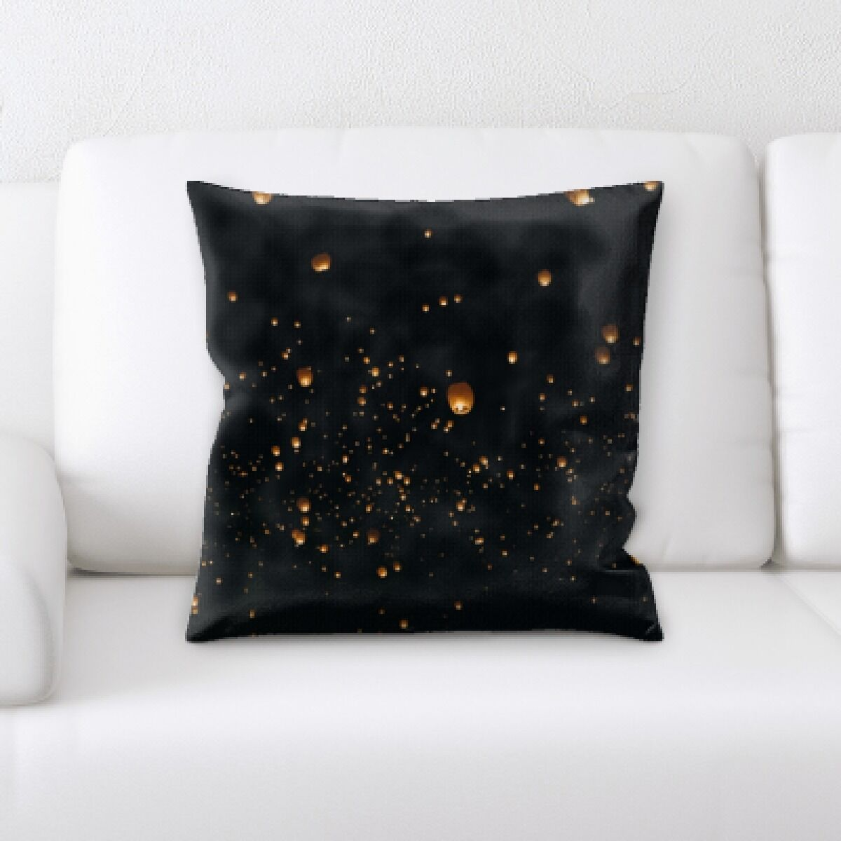 Illuminated (38) Throw Pillow