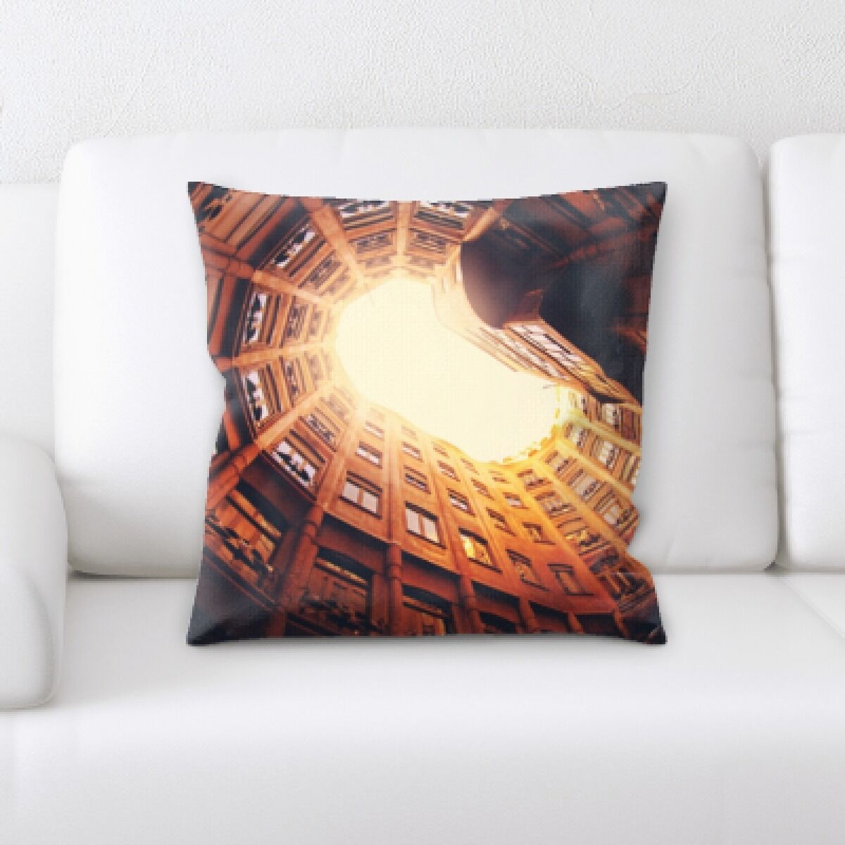 Illuminated (1) Throw Pillow