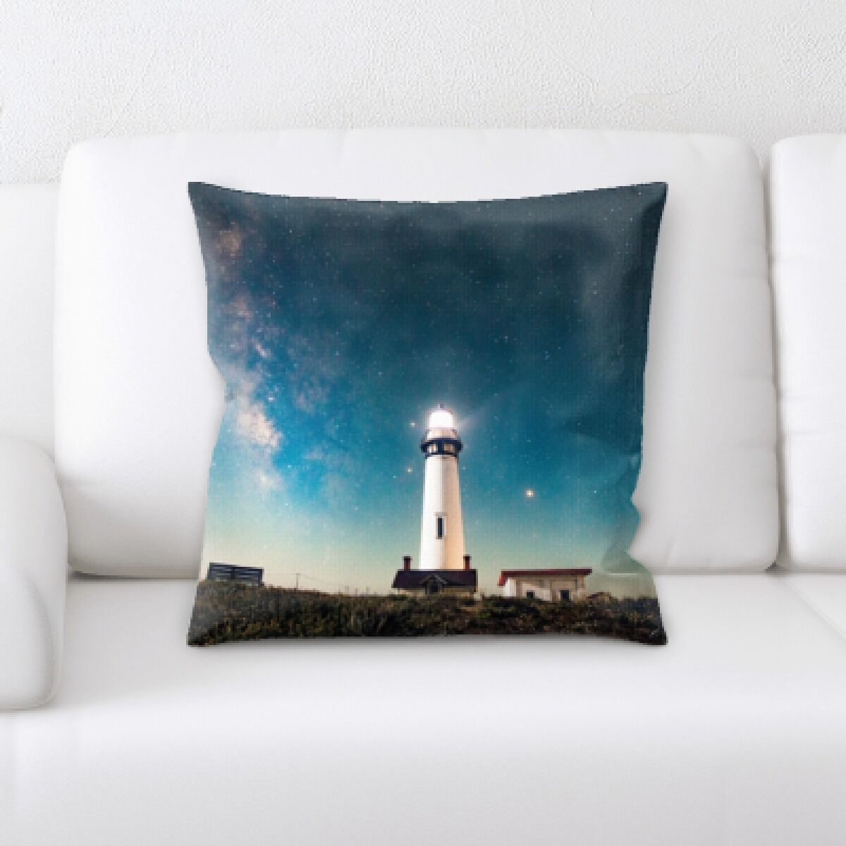 Illuminated (3) Throw Pillow