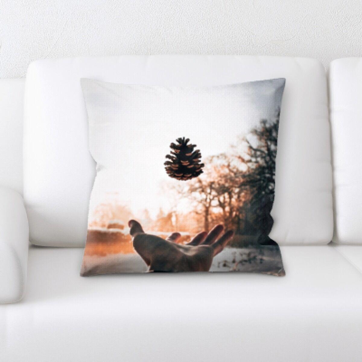 Illuminated (55) Throw Pillow