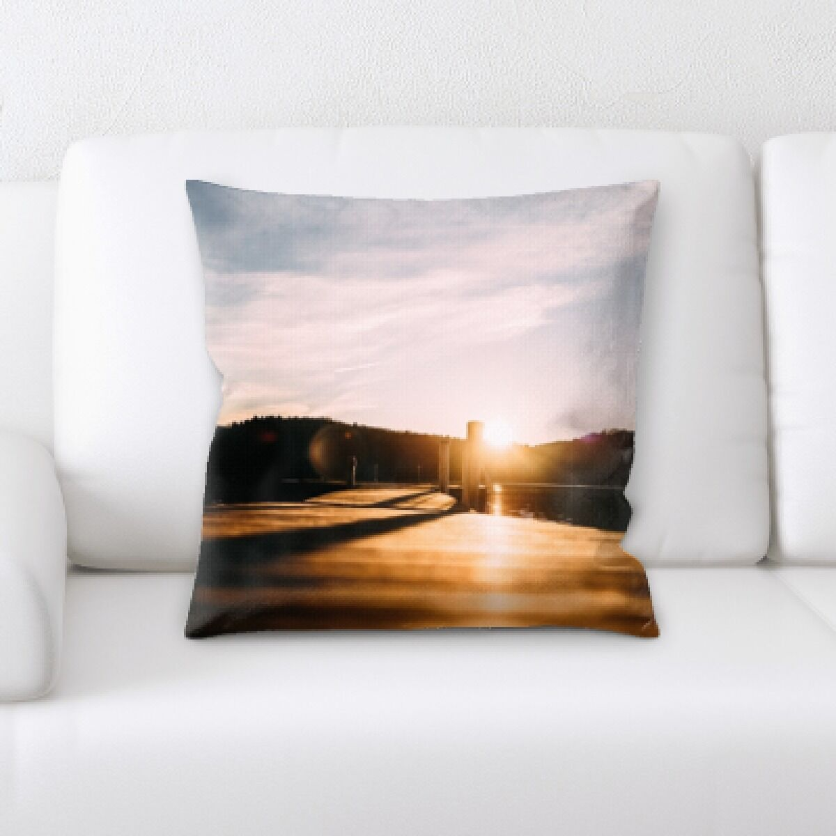 Illuminated (6) Throw Pillow