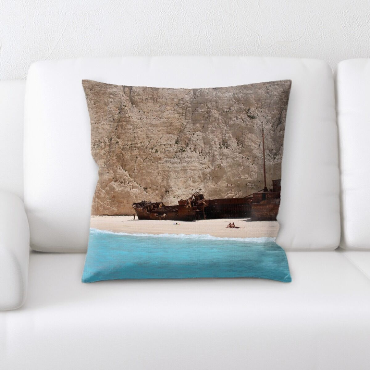Hammons Old and Abandoned (168) Throw Pillow