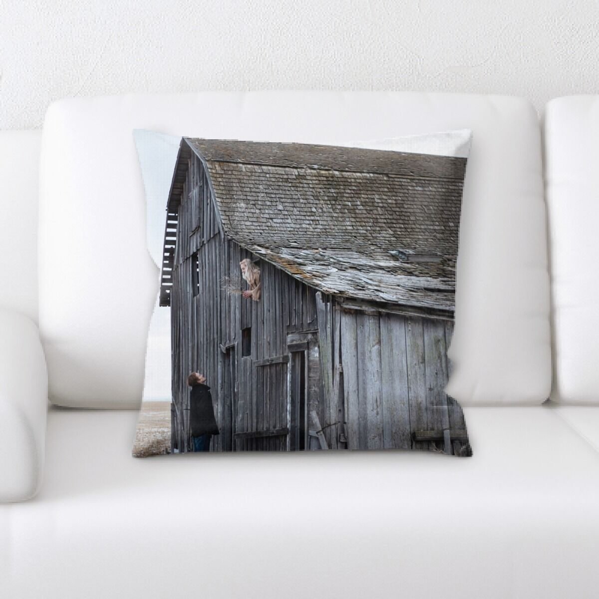 Hanley Old and Abandoned (170) Throw Pillow