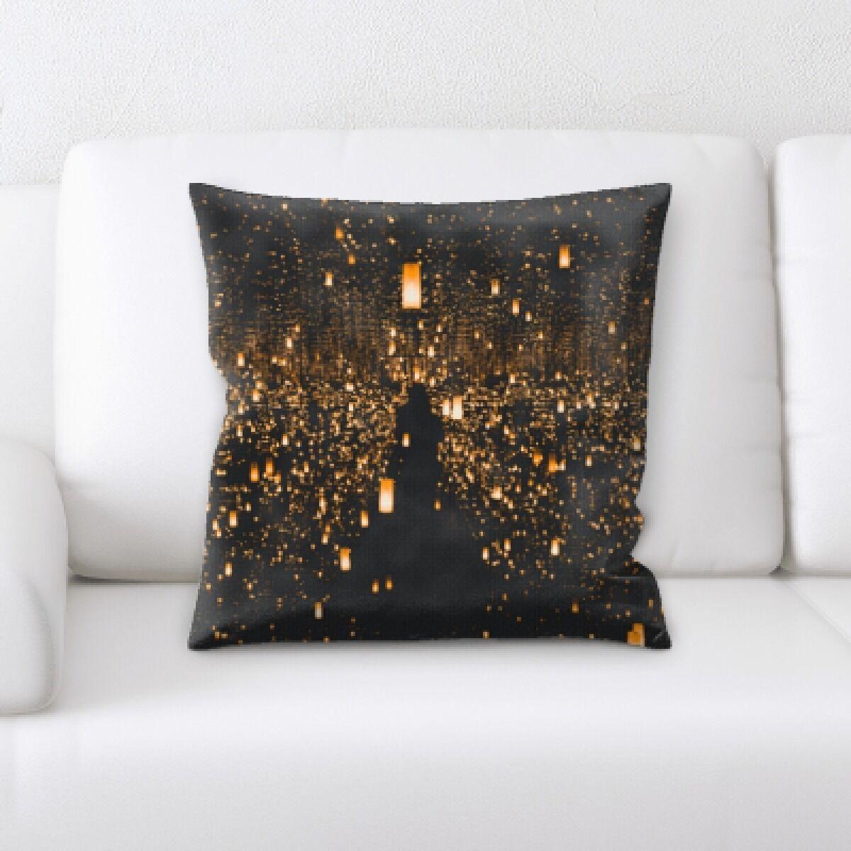 Illuminated (20) Throw Pillow