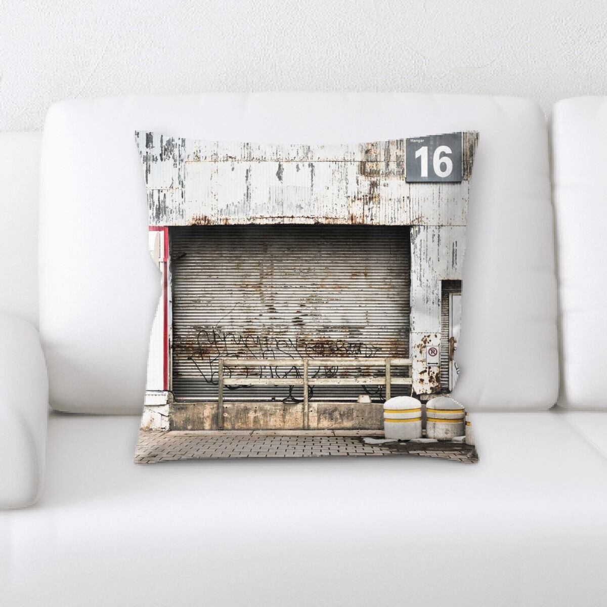 Orr Old and Abandoned (131) Throw Pillow