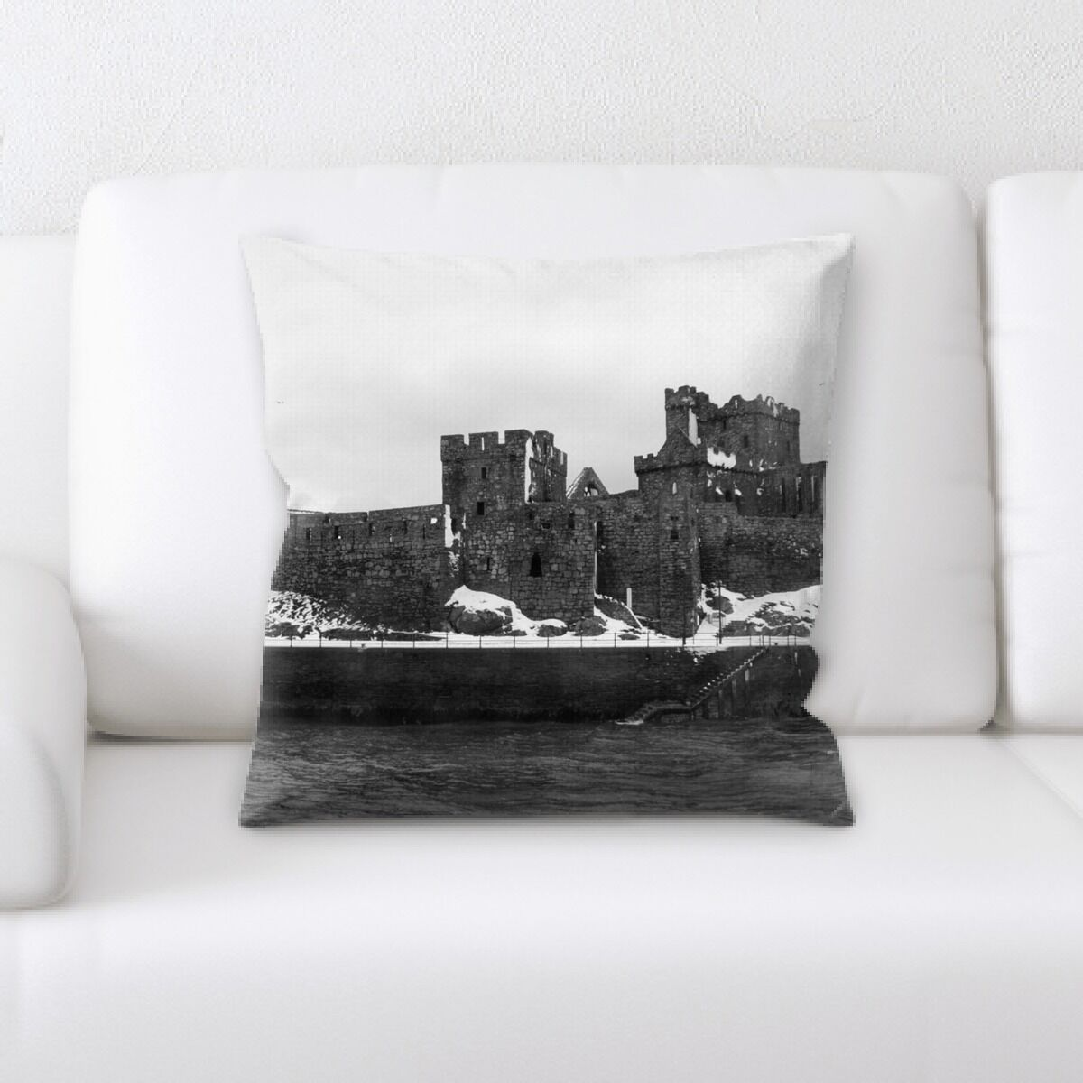 Parrish Old and Abandoned (142) Throw Pillow