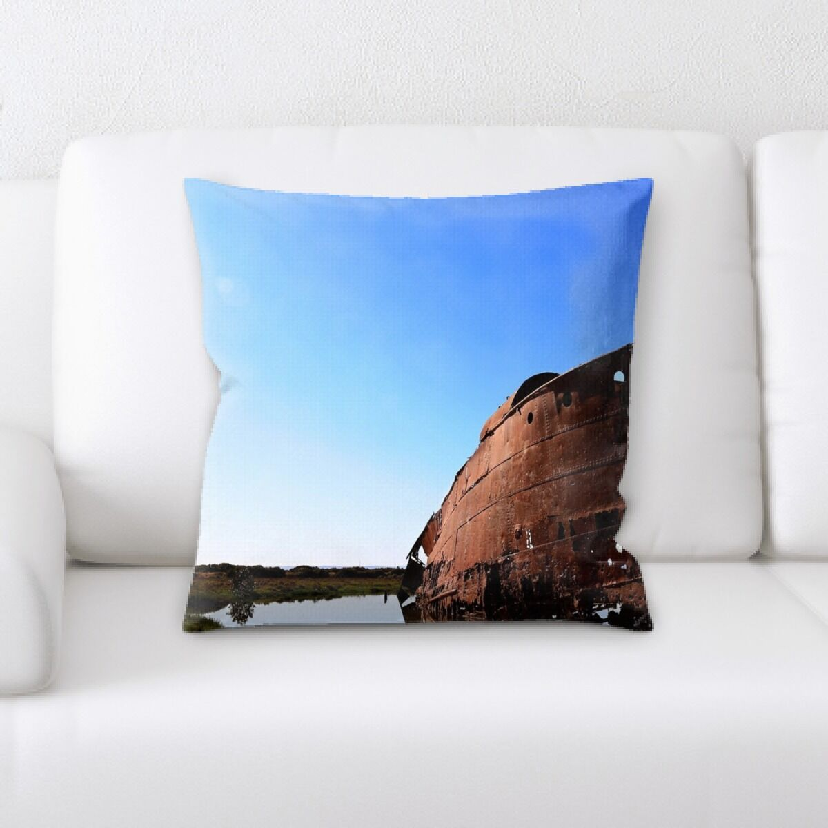 Parson Old and Abandoned (143) Throw Pillow