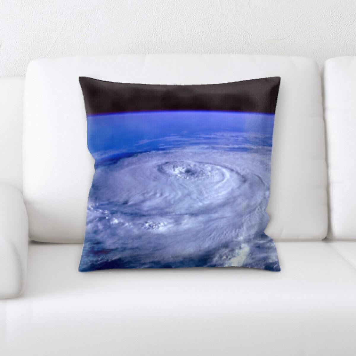 Gisselle Hurricane Throw Pillow