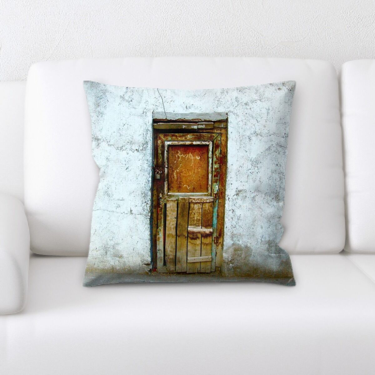 Talbot Old and Abandoned (201) Throw Pillow