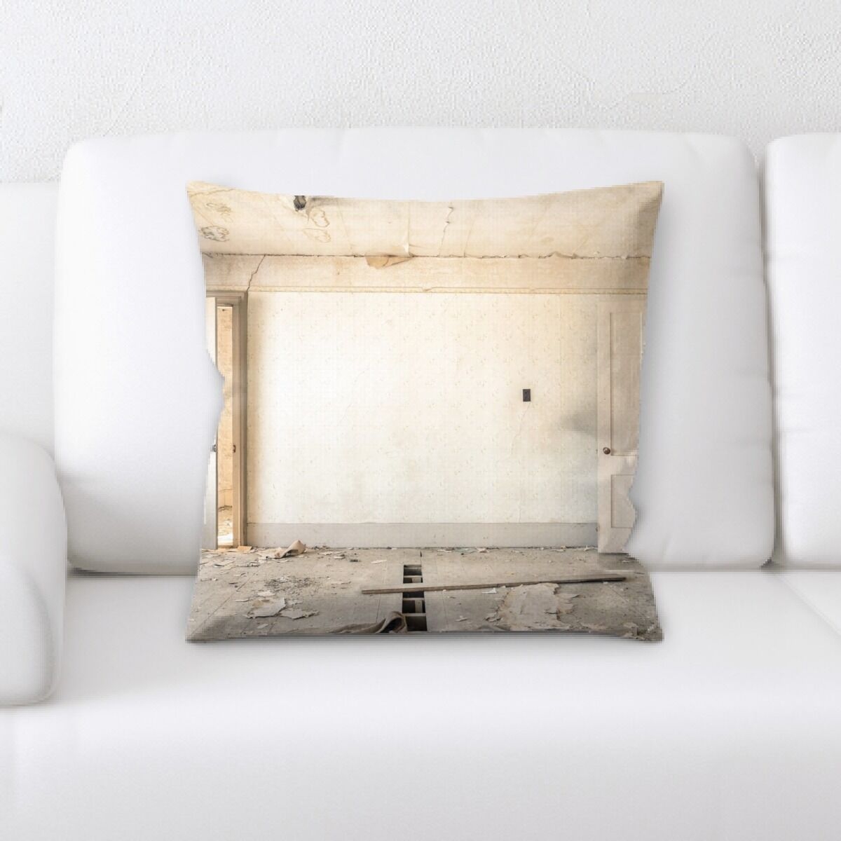 Grimm Old and Abandoned (151) Throw Pillow