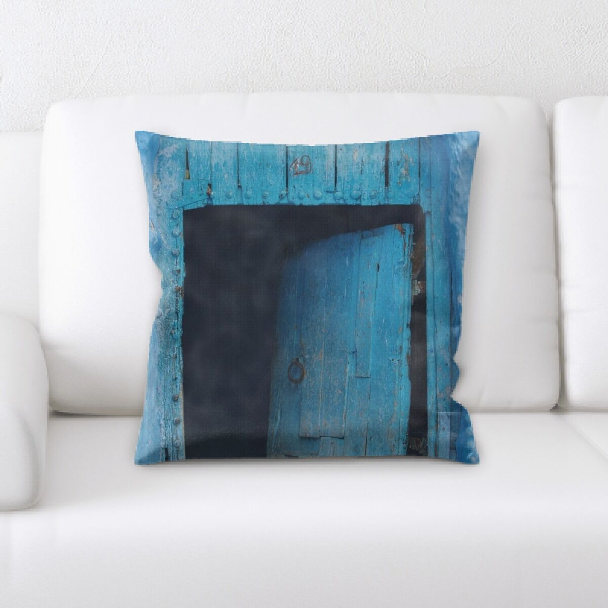 Grove Old and Abandoned (152) Throw Pillow