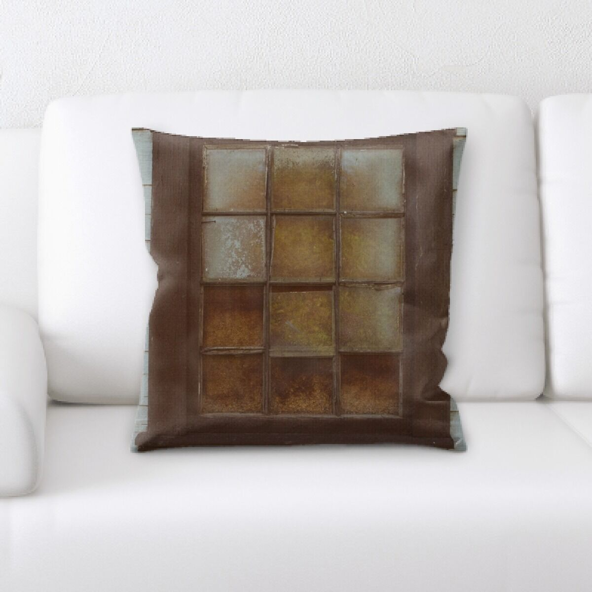 Thorne Old and Abandoned (205) Throw Pillow