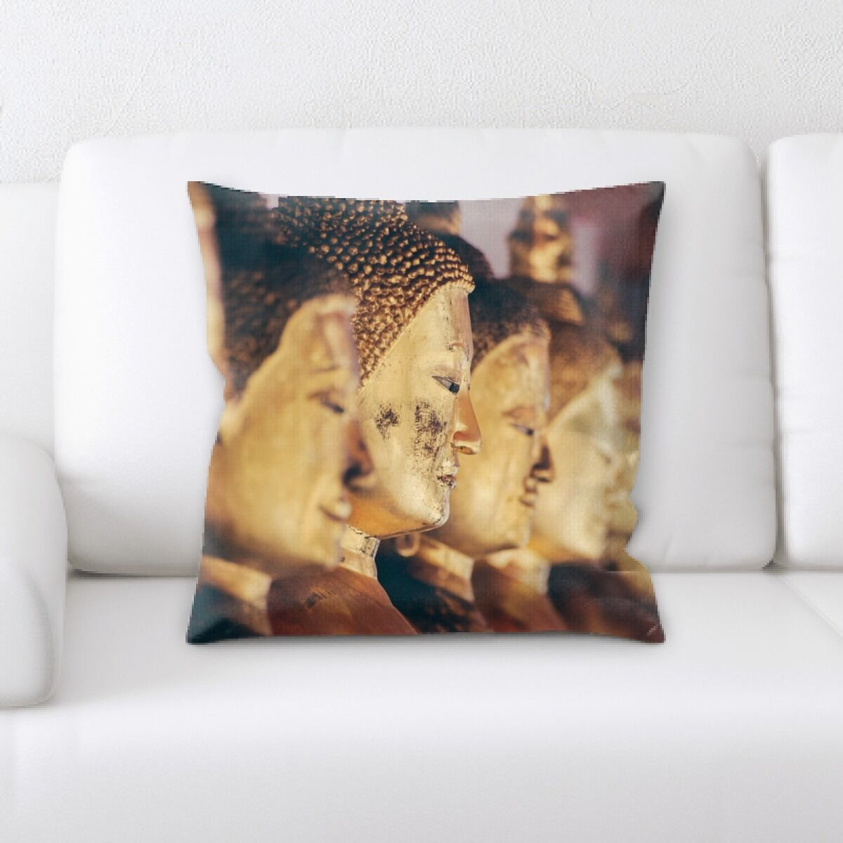 Booth Meditation and Calming Moments (9) Throw Pillow