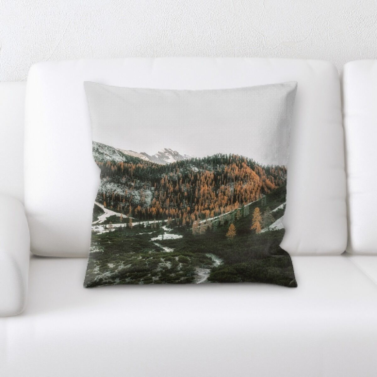 Portrait Style Photography (185) Throw Pillow