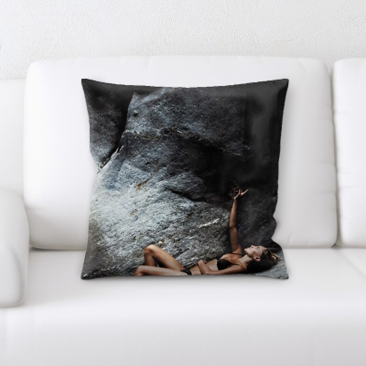 Portrait Style Photography (192) Throw Pillow