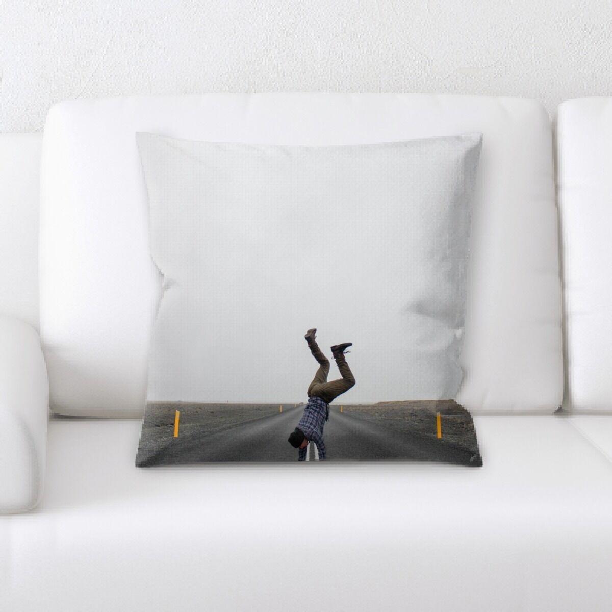 Landis (34) Throw Pillow