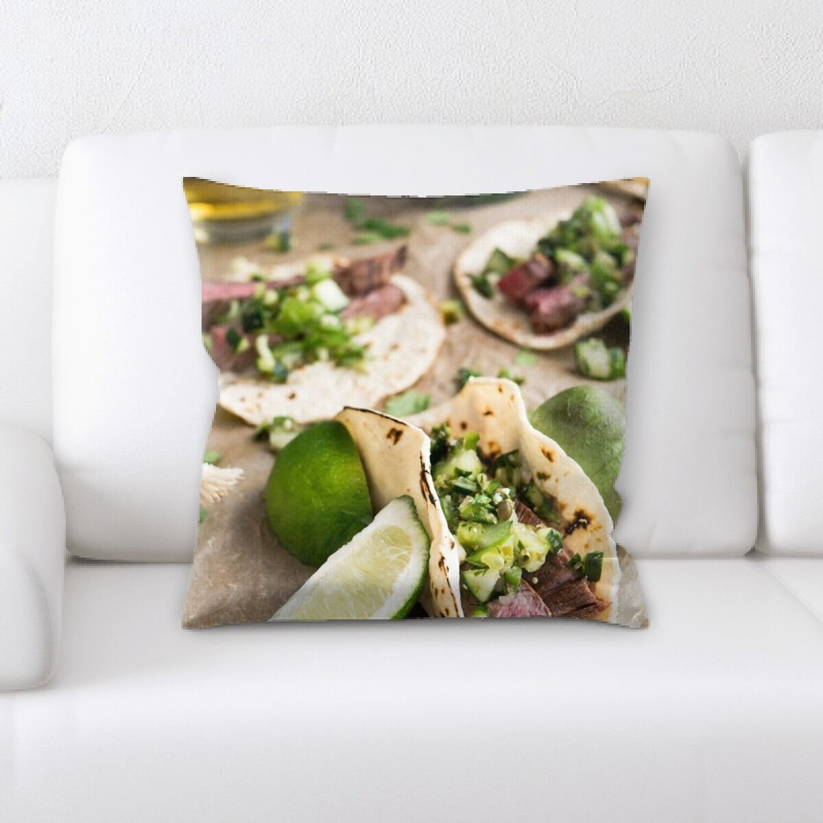Portrait Style Photography (136) Throw Pillow