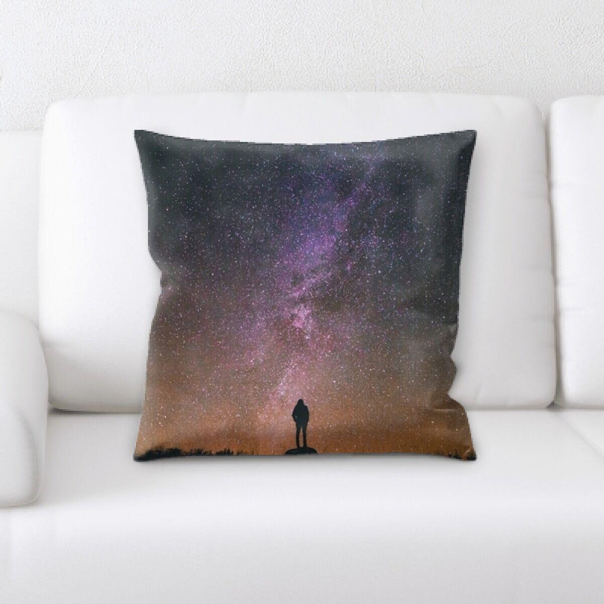 Stringer Milky Way 2 Throw Pillow
