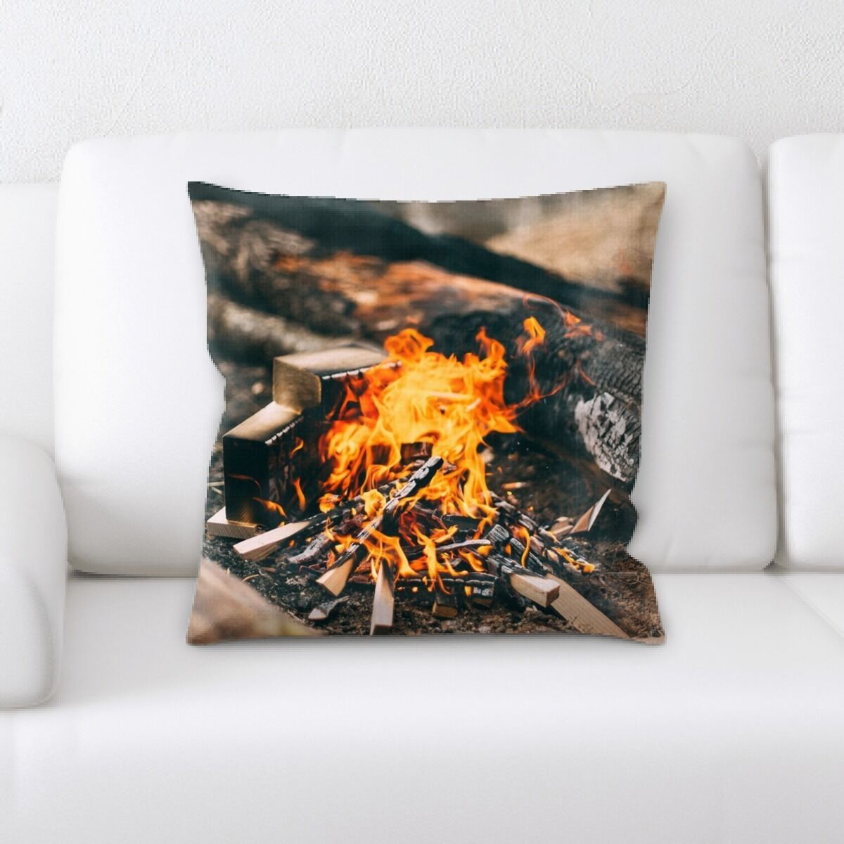 Portrait Style Photography (153) Throw Pillow