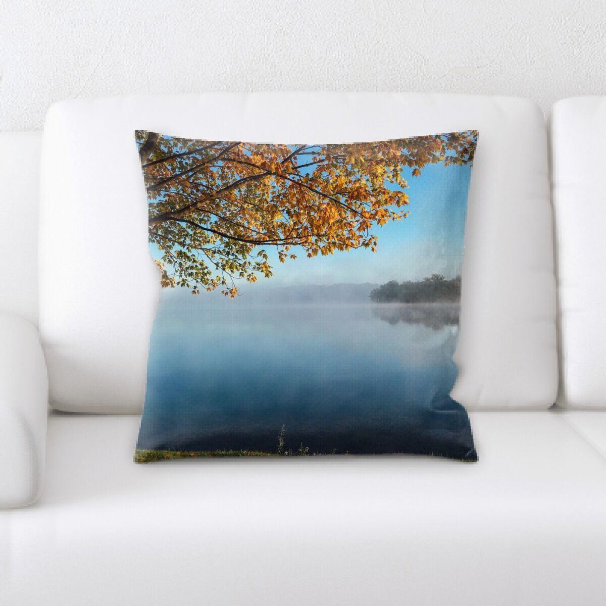 Yukon Meditation and Calming Moments (2) Throw Pillow