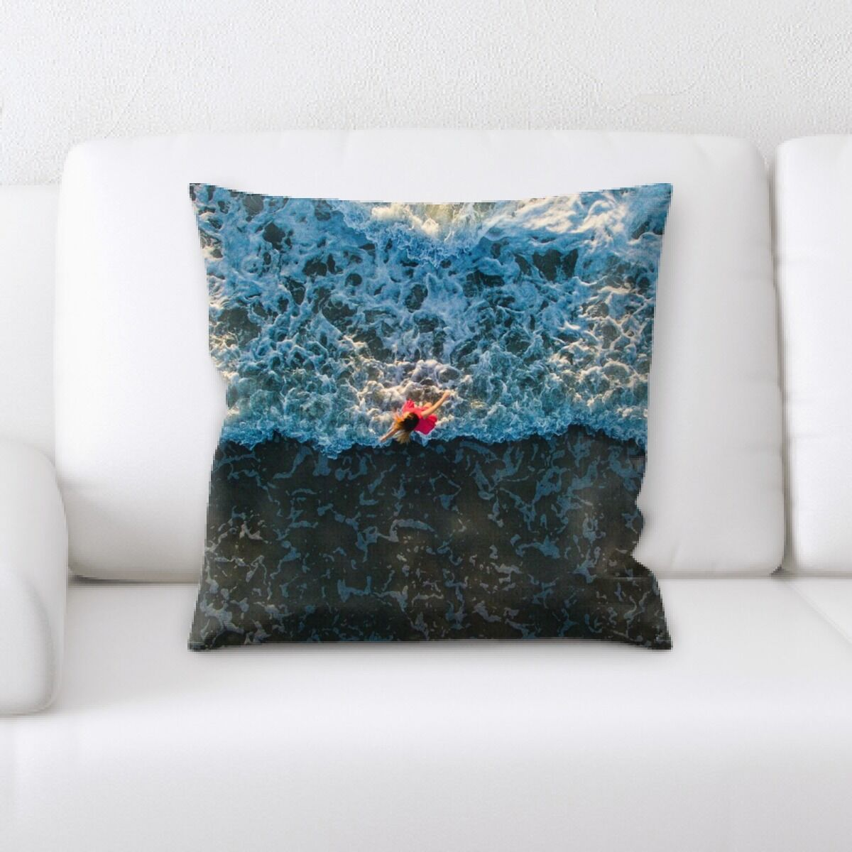 Foreman Meditation and Calming Moments (53) Throw Pillow