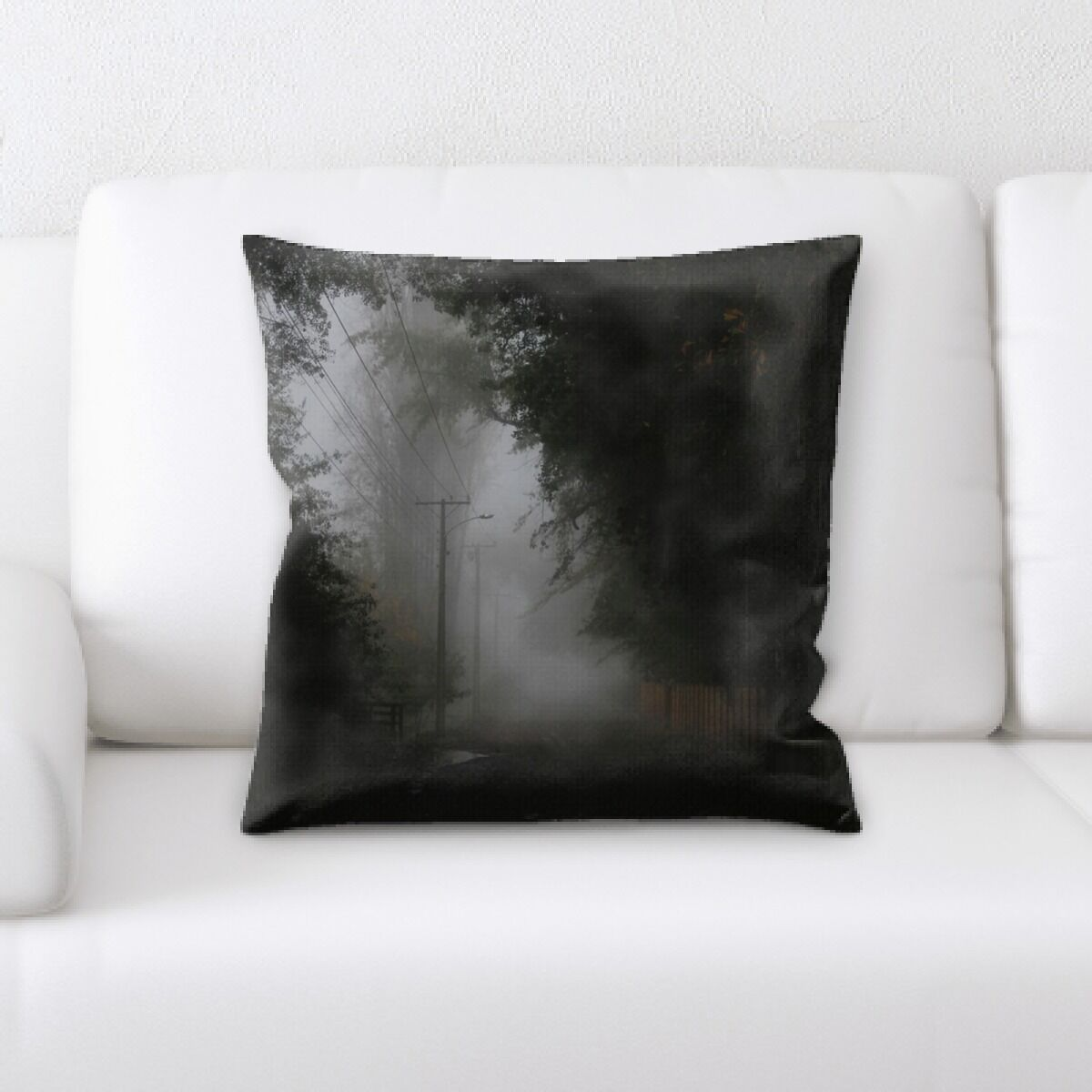 Portrait Style Photography (166) Throw Pillow