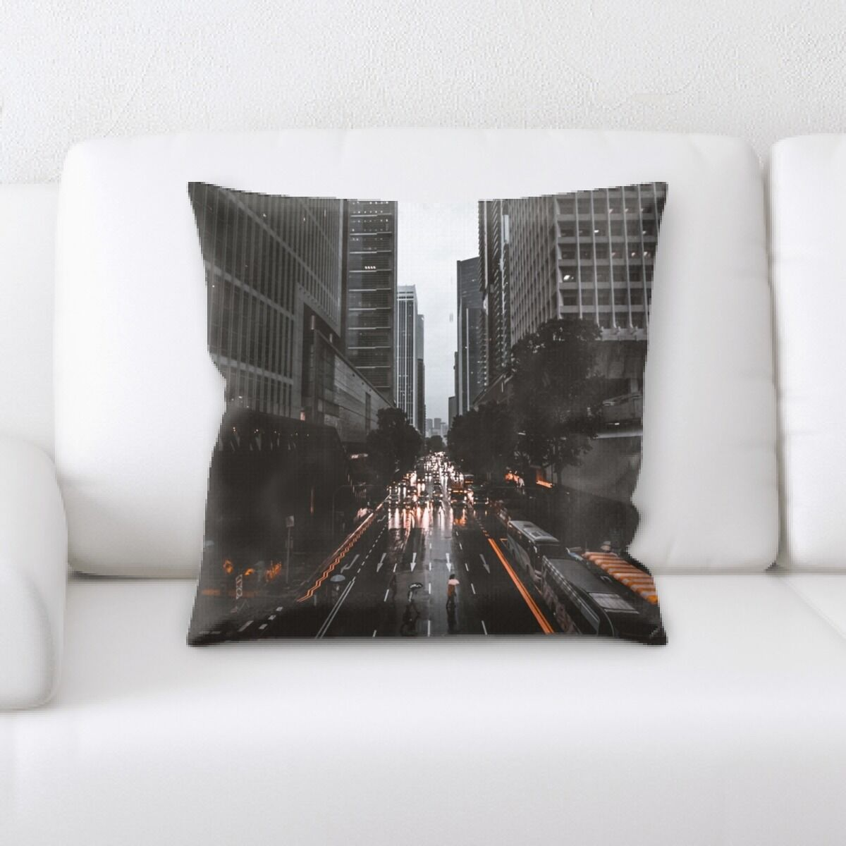 Portrait Style Photography (176) Throw Pillow