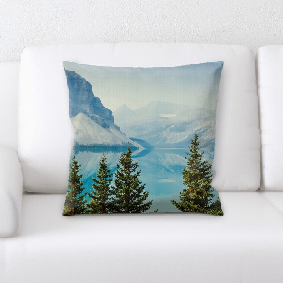 Mata Mountain and Cliffs (156) Throw Pillow