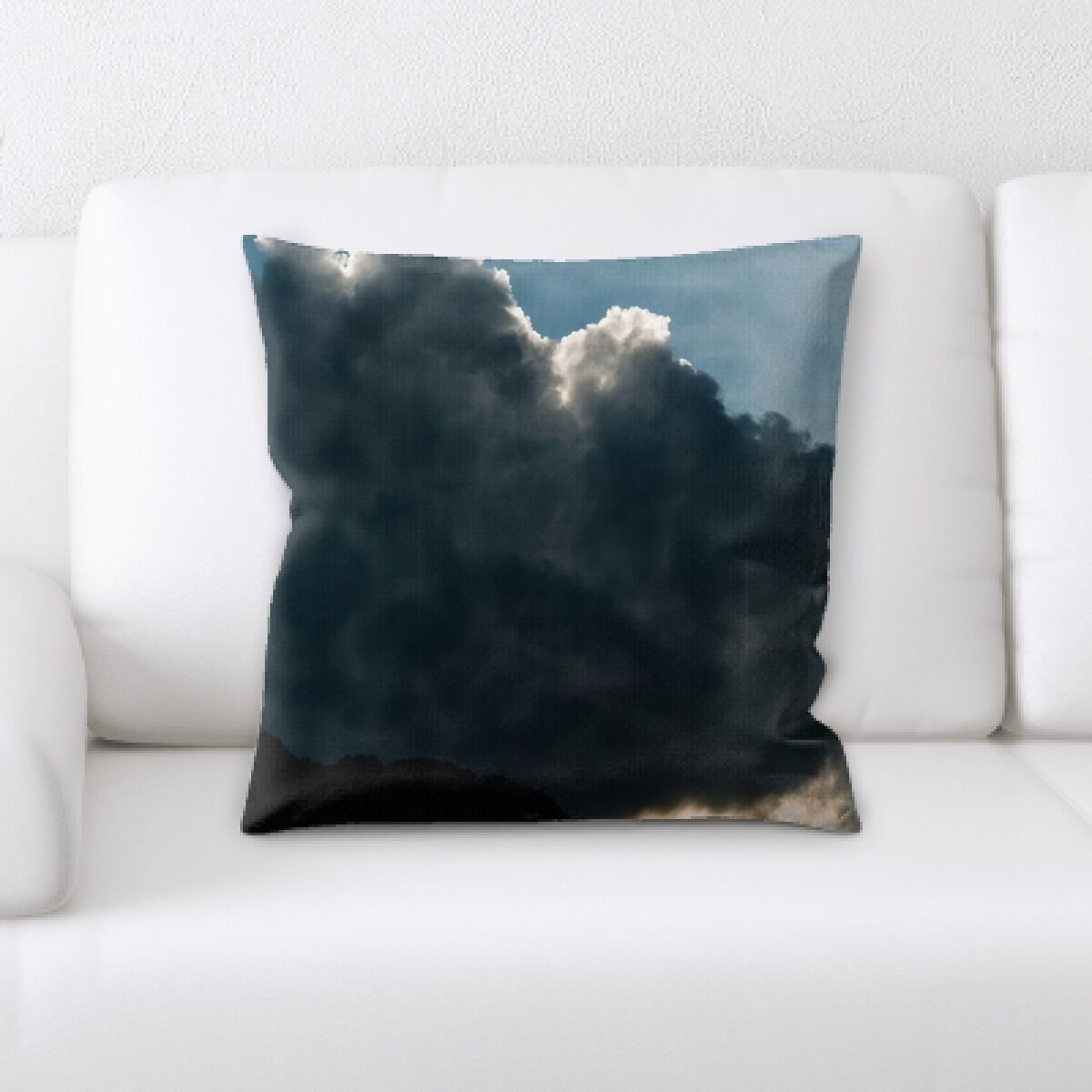 Portrait Style Photography (332) Throw Pillow