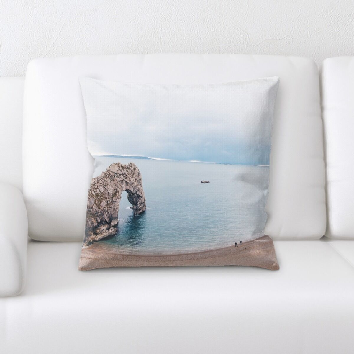 Florentine Mountain and Cliffs (46) Throw Pillow