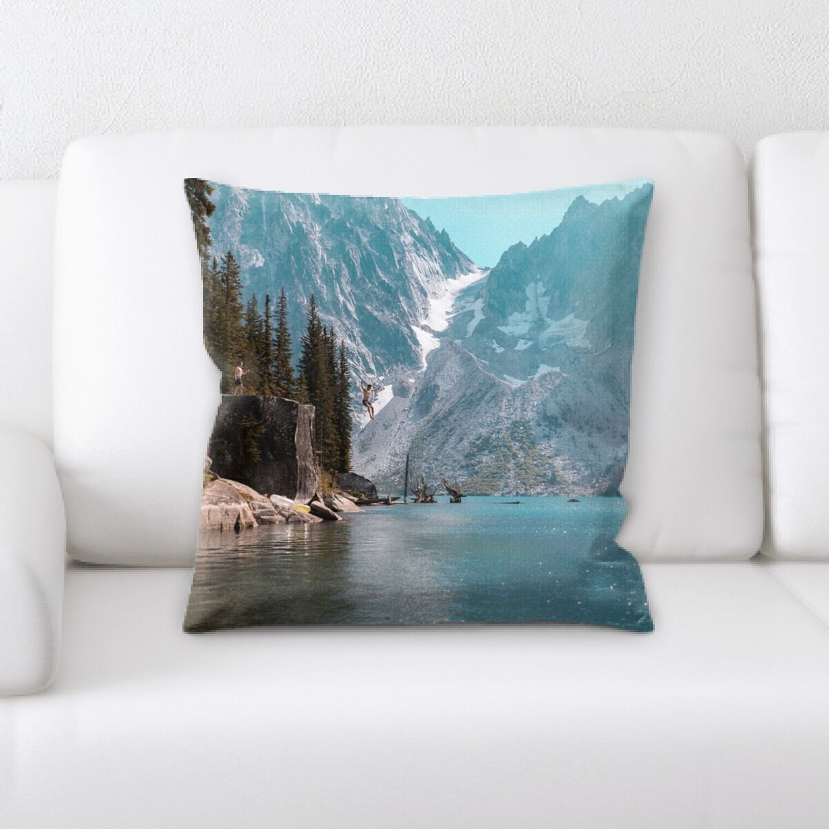 Portrait Style Photography (347) Throw Pillow