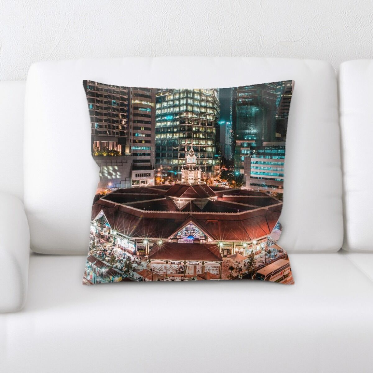 Portrait Style Photography (354) Throw Pillow