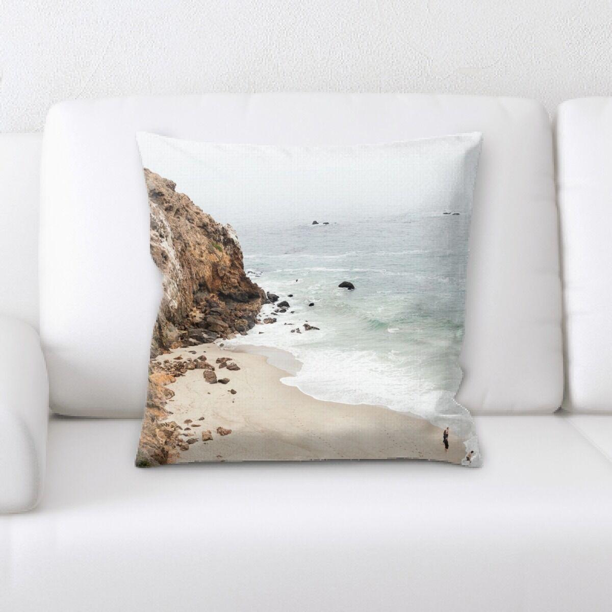 Laguna Mountain and Cliffs (65) Throw Pillow