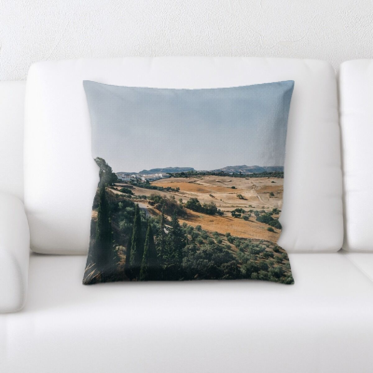 Portrait Style Photography (359) Throw Pillow