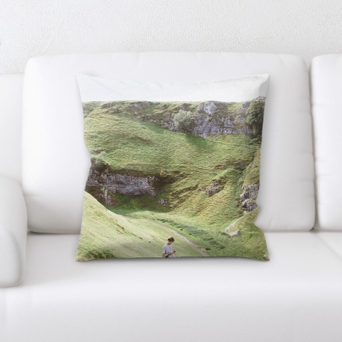 Portrait Style Photography (364) Throw Pillow